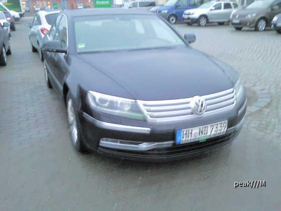 Phaeton von Europcar Rostock, 27.2.