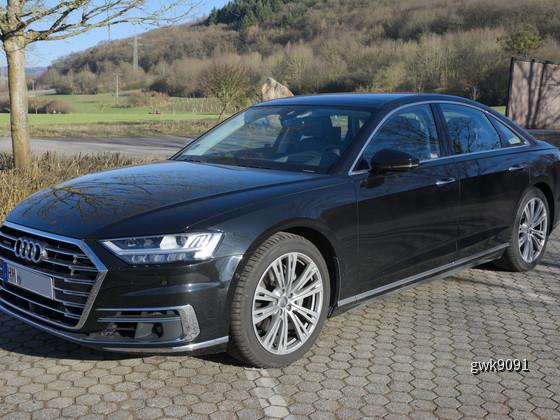 Audi A8 50 TDI von Europcar