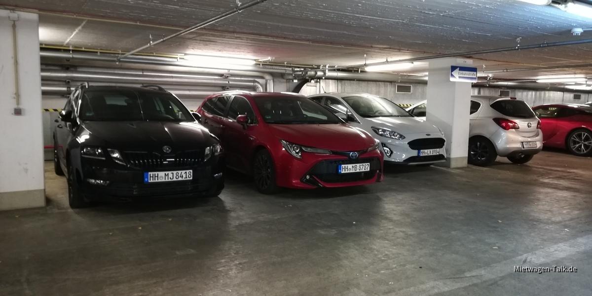 Skoda - Toyota - Ford - Europcar Berlin Charlottenburg