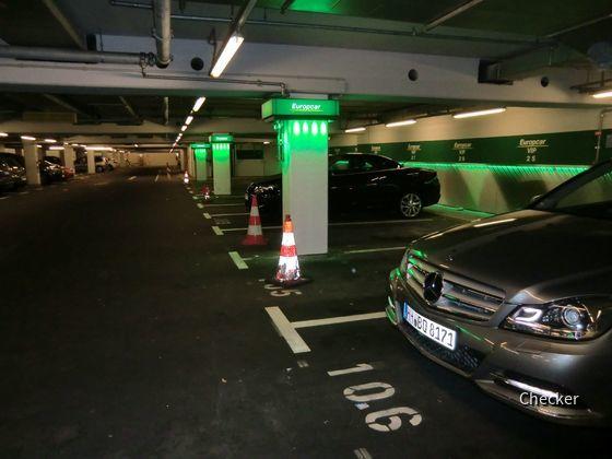 Europcar MUC VIP Parkplätze 31.03