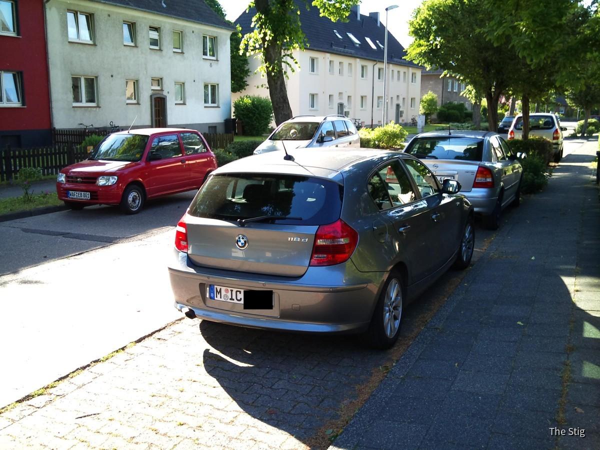 BMW 118 D von Sixt