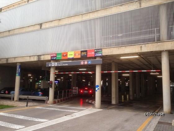 PMI Parkhaus Einfahrt