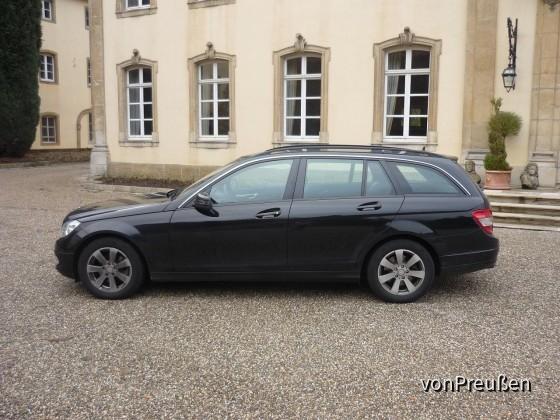 Europcar FWMR Mercedes Benz C200K