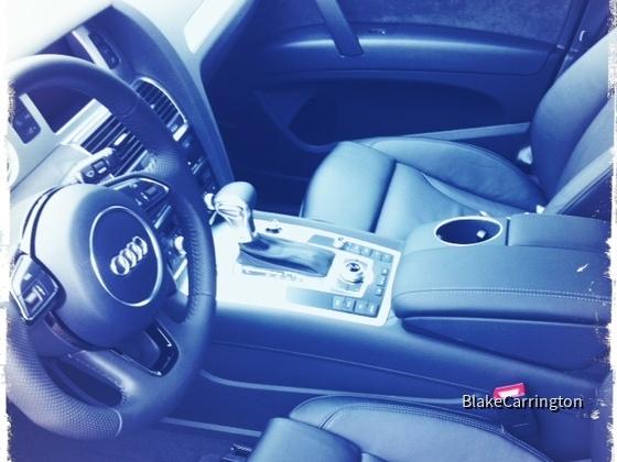 Audi Q7 3.0 TDI quattro / Euromobil Autovermietung Moers