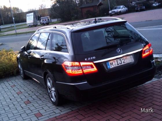 E220 CDI von Sixt