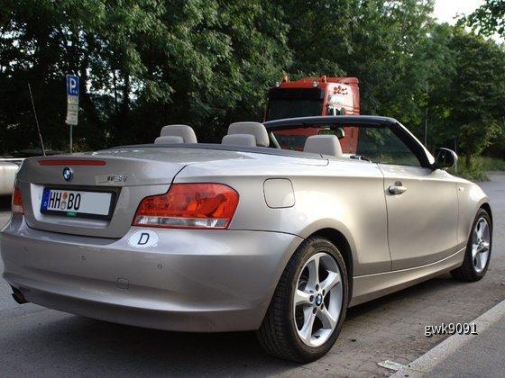 BMW 118i Cabrio von Europcar