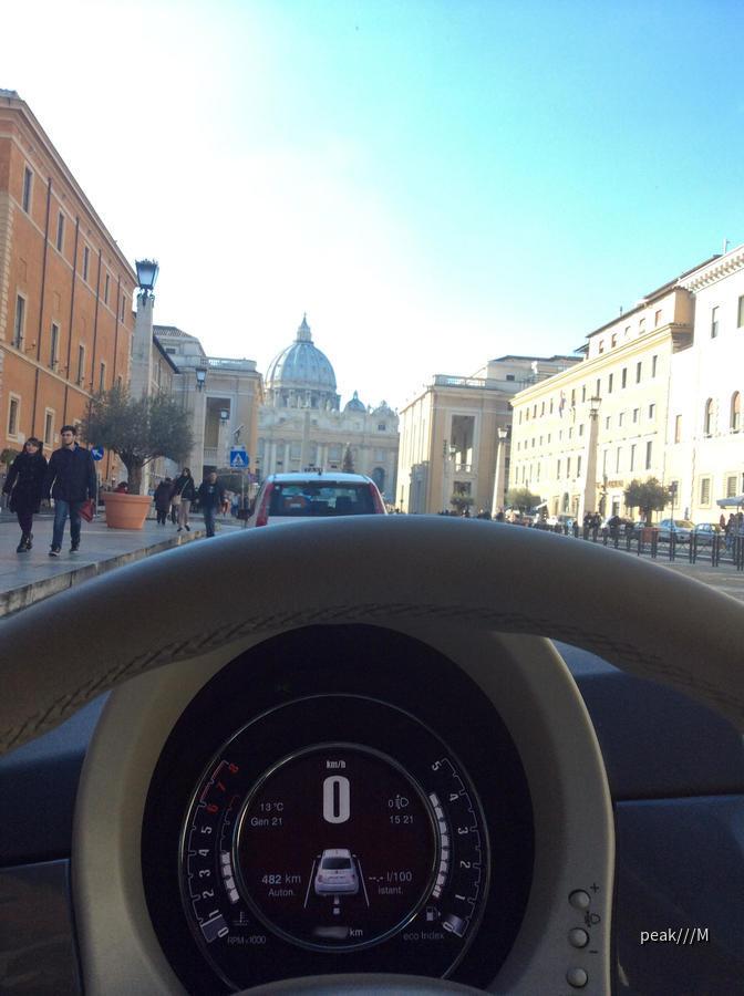 Fiat 500 von Avis Rom
