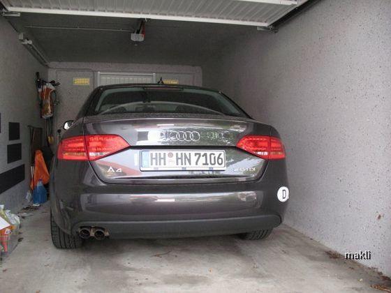 EC Audi A4 2.0 TDi Heckleuchten LED