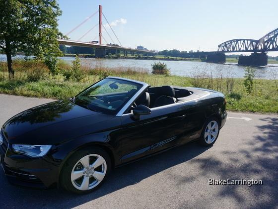 Neu in der Flotte: Audi A3 Cabrio 1,4 TFSI - Stand: 20.08.14