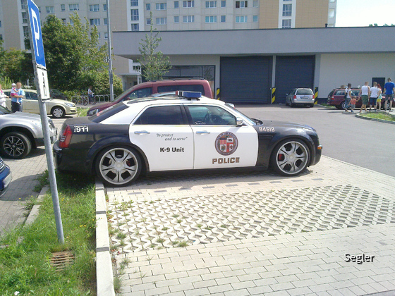 US-Polizei Design - Berlin