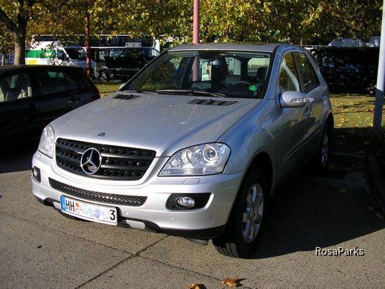 Mercedes M-Klasse von Europcar
