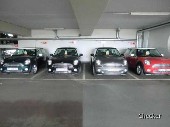 4x BMW Mini