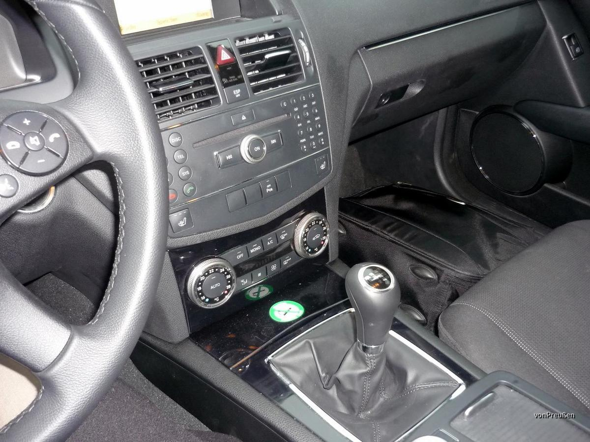 Europcar FWMR Mercedes Benz C180K Kombi