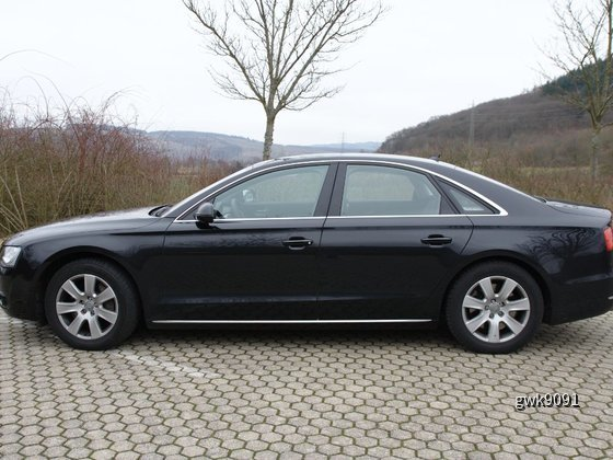 Audi A8 4.2 TDI von Sixt