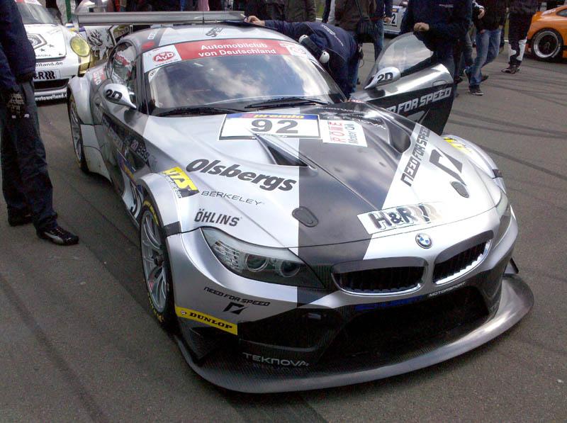 VLN 10.04.10 - BMW M3 und Z4 GT3