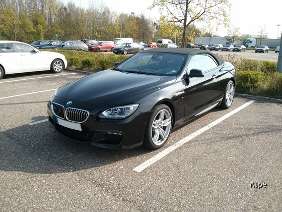 BMW 640d M Paket