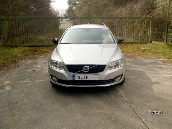 Volvo V70 D3 Front