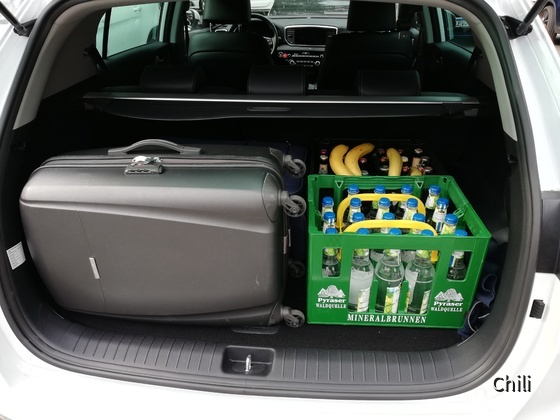 Kofferraum Kia Sportage