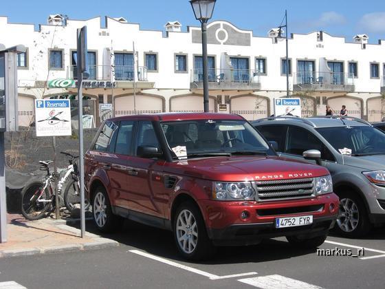 Range Rover Sport SE, Cabrera Medina Lanzarote