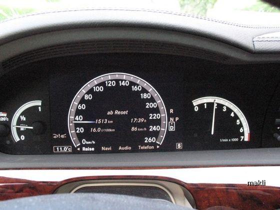 Mercedes Benz S500L (Europcar)