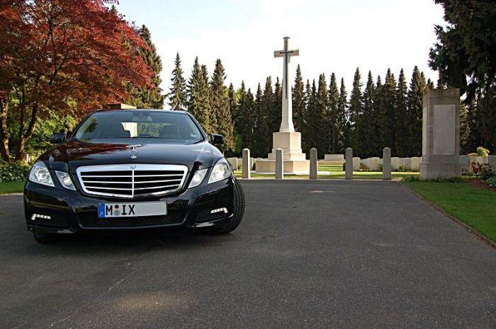 Mercedes E350 CDI von vorne