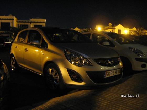 Opel Corsa 1.4 Cosmo Automatik, Cabrera Medina Lanzarote