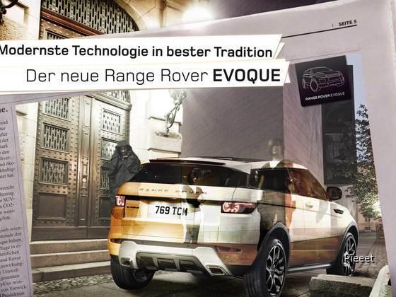 Range Rover Evoque Award