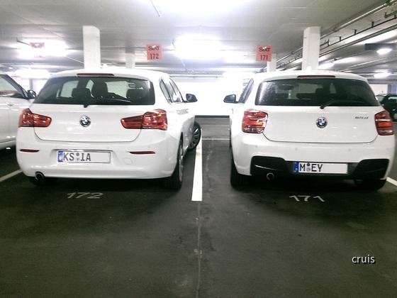 BMW 116d mit M-Paket