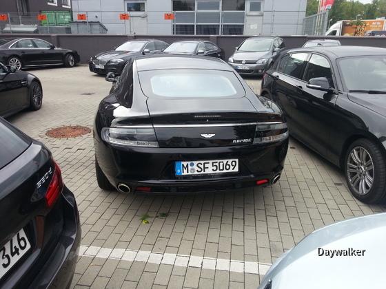 Aston Martin Rapide - Heckansicht