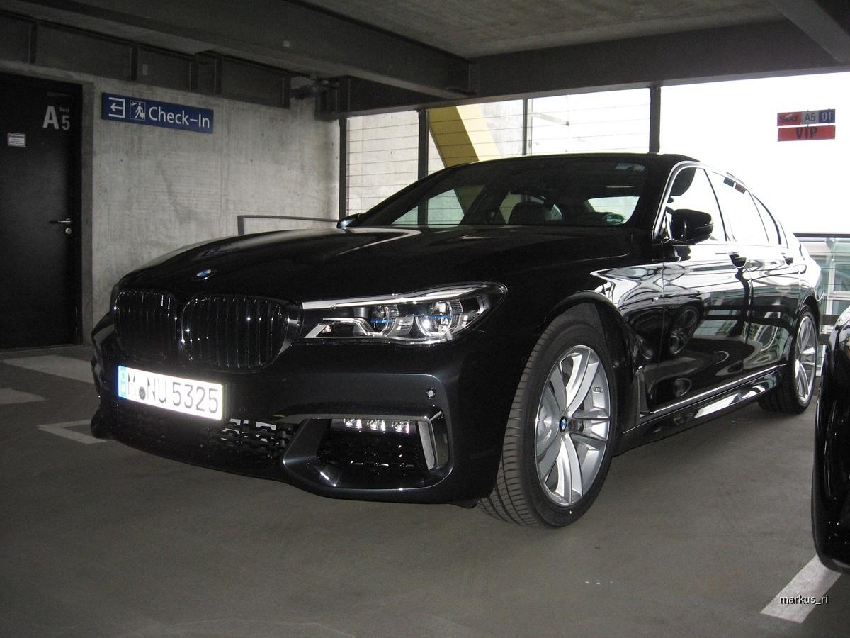 Sixt BMW 730d G11
