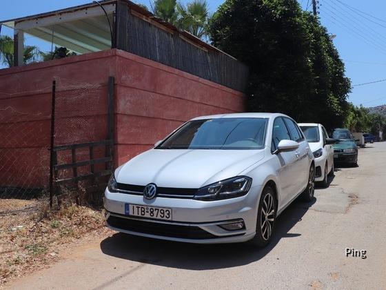 VW Golf TDI Sixt Heraklion Griechenland