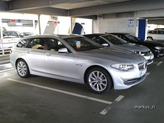 BMW 520dA F11 @ SIXT LEJ 14.07.2012