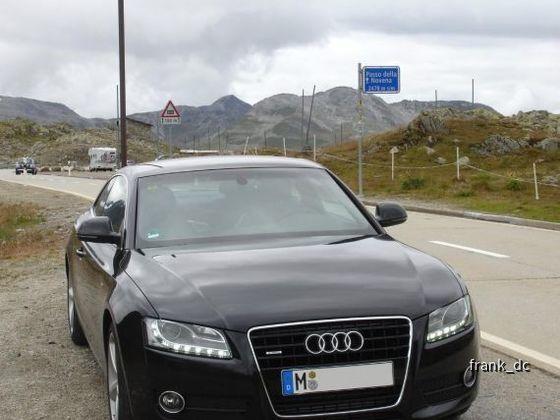 Audi A5, Nufenenpass