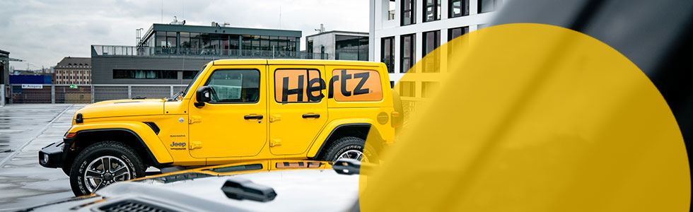 Hertz Jeep Wrangler